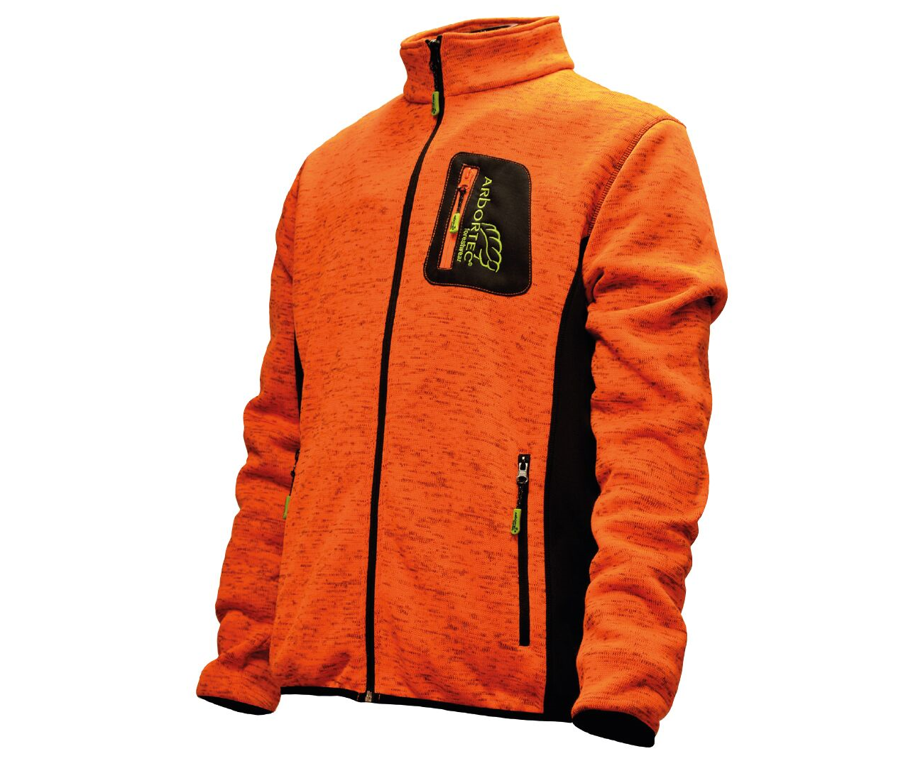 Arbortec Kudu Plus knitted mélange jacket (Orange)