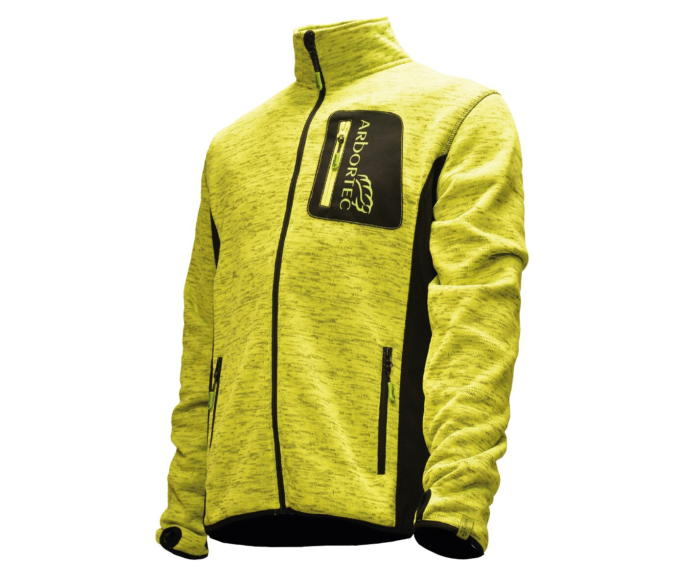 Arbortec Kudu Plus knitted mélange jacket (Yellow) (Medium)