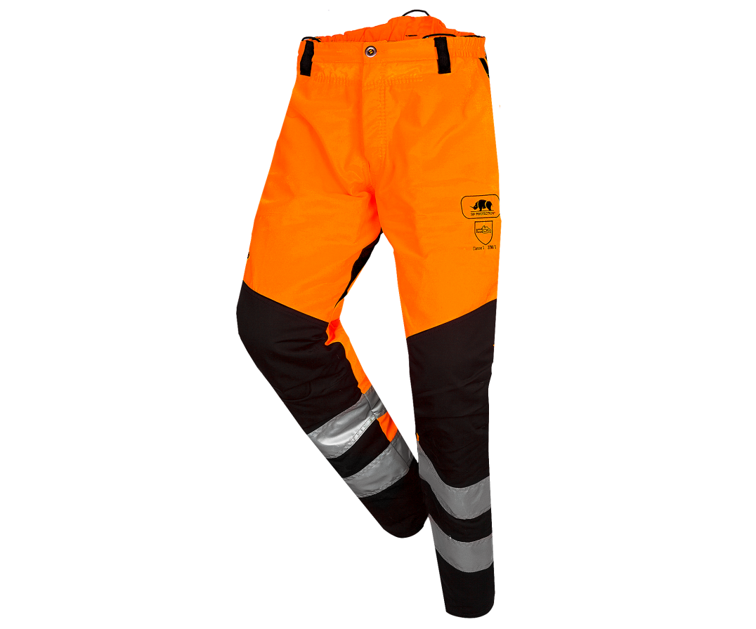 SIP Protection BasePro Hi-Viz chainsaw trousers Type A, class 1 (Hi-Viz Orange)