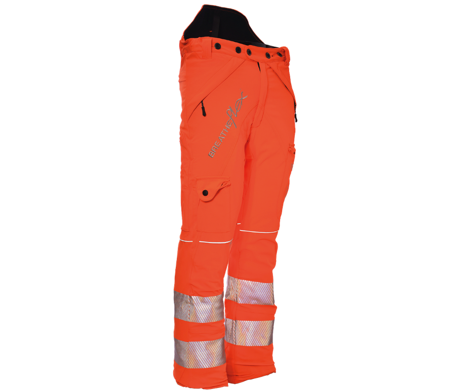 Arbortec Breatheflex GO/RT chainsaw trousers Type C, class 1 (Hi-viz orange)