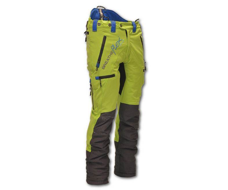 Arbortec Breatheflex Pro chainsaw trousers Type A, class 1 (Lime)