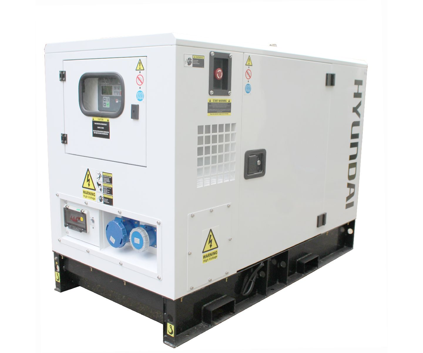Hyundai DHY9KSEM single phase diesel generator