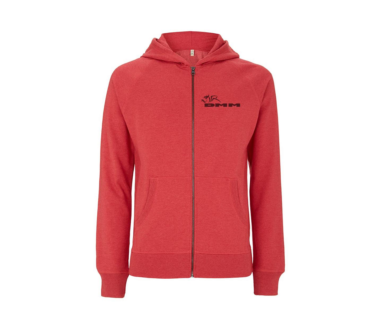 DMM zip hoodie (Sunset red) (Medium)