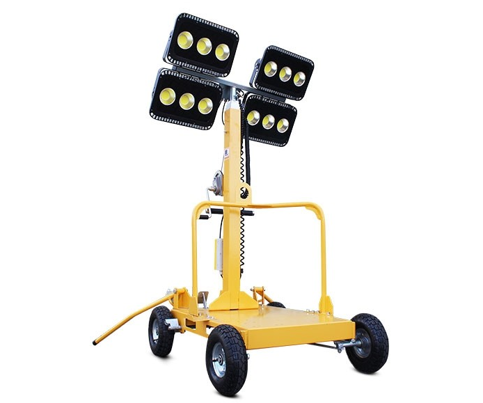 Evopower LT600-LED-i LED lighting tower for small petrol generator (generator not included)