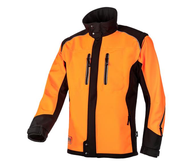 SIP Protection Fuyu softshell work jacket (Orange / Black)