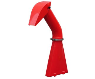 GTM Professional swivel chute for MSGTS1300G chipper