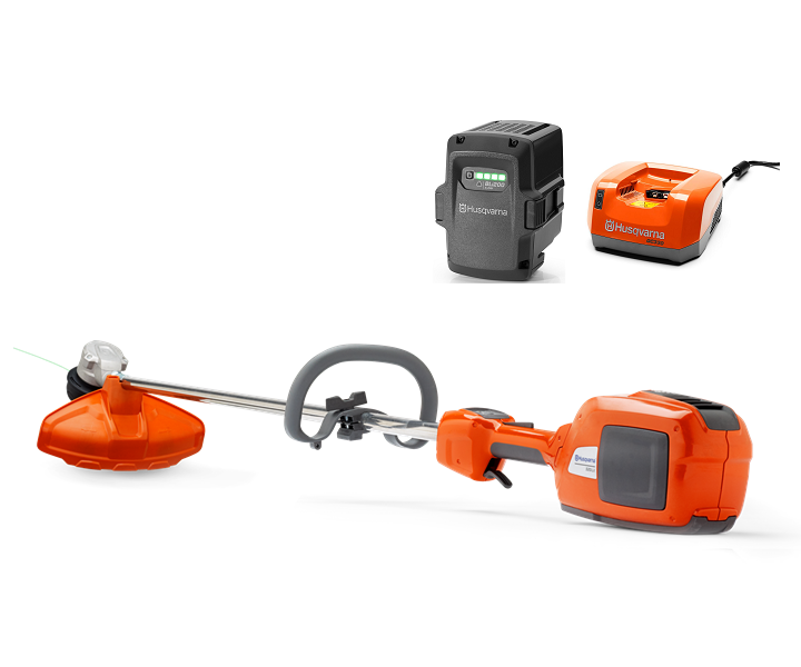 Husqvarna 520iLX battery brushcutter/strimmer (Kit (with battery & charger))