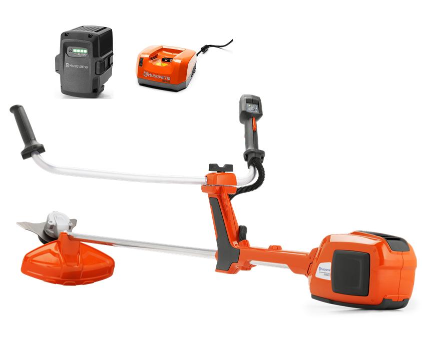 Husqvarna 520iRX battery brushcutter/strimmer (Kit (with battery & charger))