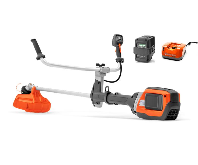 Husqvarna 535iRX battery brushcutter/strimmer (Kit (with battery & charger))