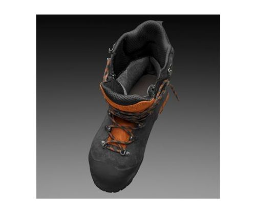 husqvarna functional leather chainsaw boots 7