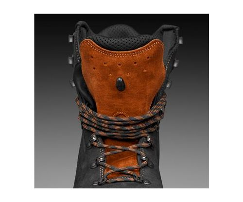 husqvarna functional leather chainsaw boots 8