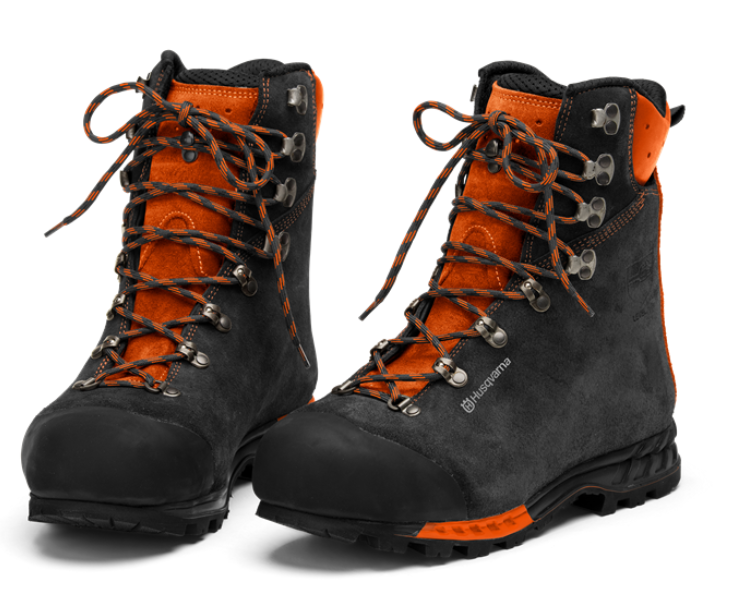 Husqvarna Functional leather chainsaw boots (class 2)