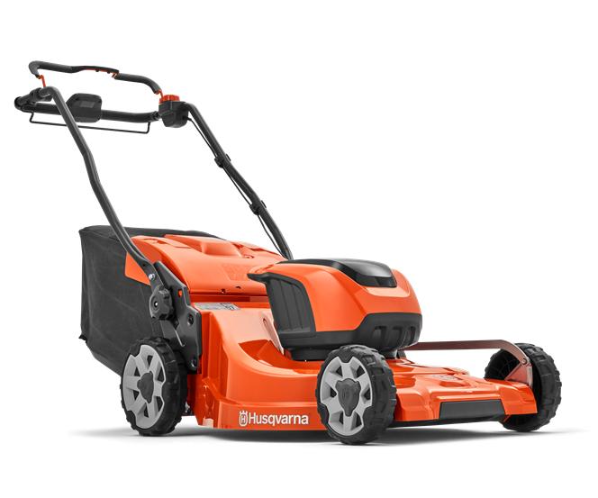 Husqvarna LC 353iVX battery self-propelled four wheeled lawn mower (53cm cut)
