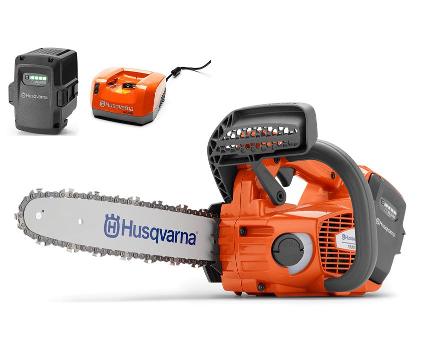 Husqvarna T535iXP battery top handle chainsaw (12
