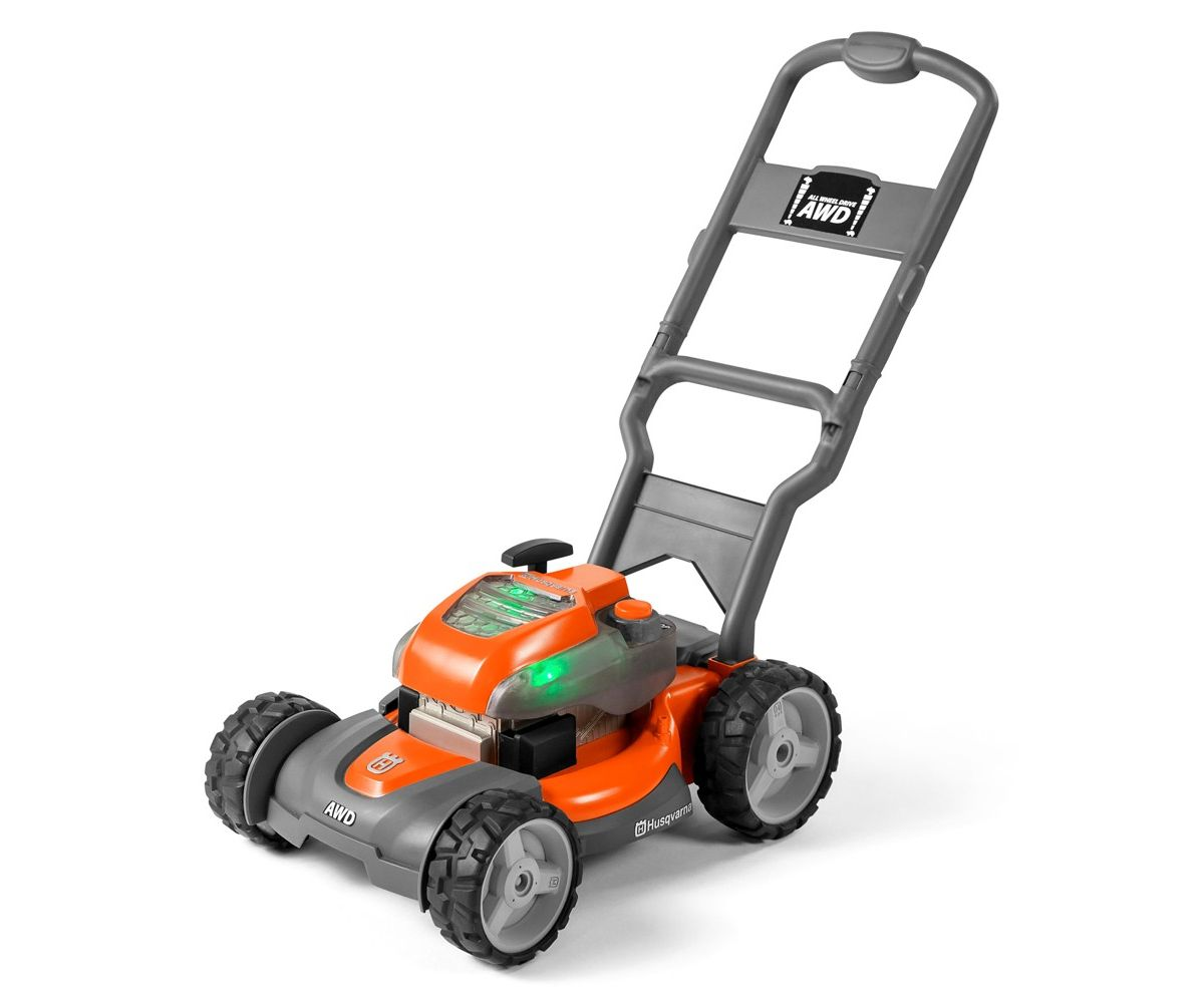 Husqvarna toy lawnmower