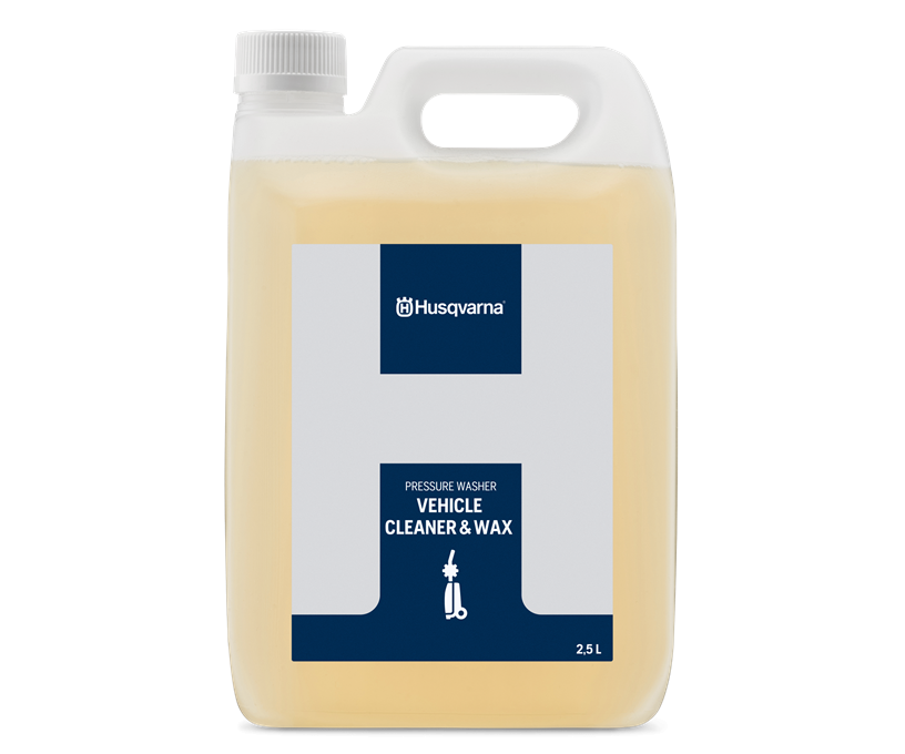 Husqvarna pressure washer vehicle cleaner and wax cleaning solution (2.5L)