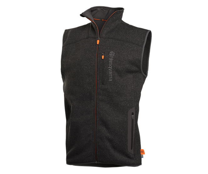 Husqvarna Xplorer fleeced granite body warmer