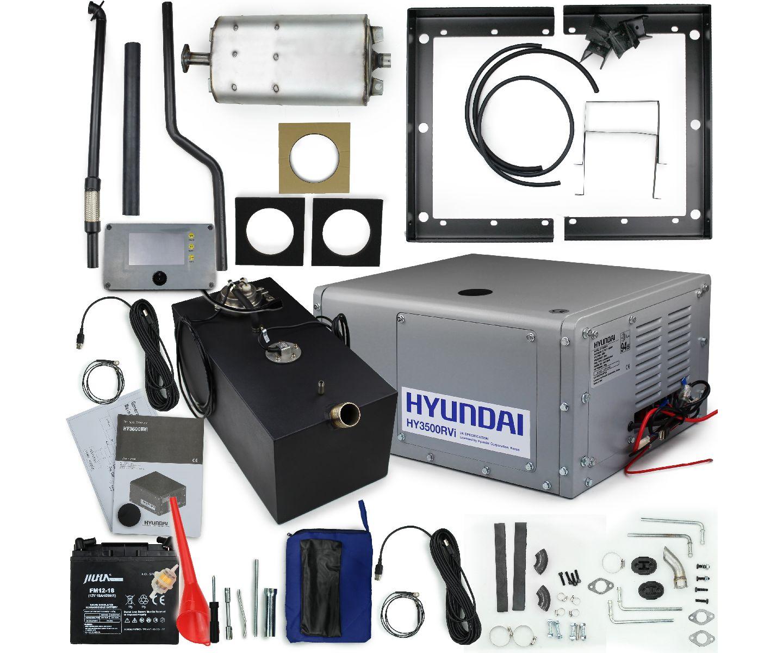 Hyundai HY3500RVi motorhome RV petrol leisure silent generator