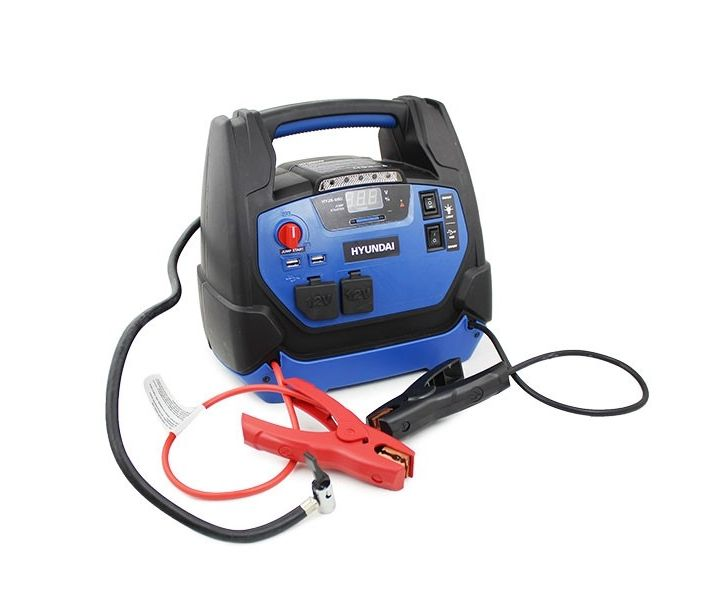 Hyundai HYJS-950 jump starter with air compressor