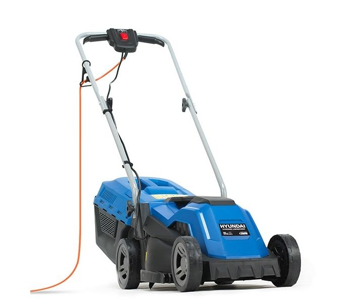 Hyundai HYM3300E electric push four wheeled lawnmower (33cm cut)