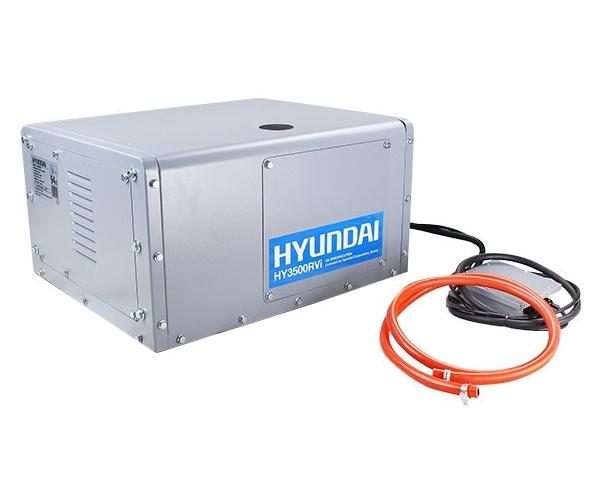 Hyundai HY3500RVi-LPG motorhome RV petrol leisure silent generator