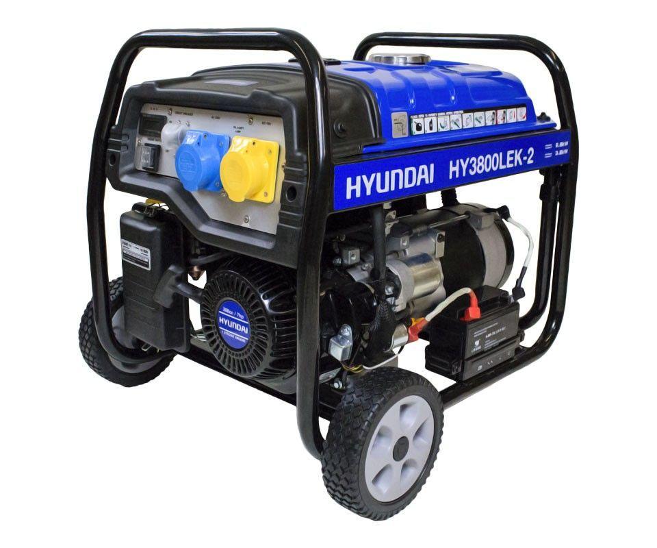 Hyundai HY3800LEK-2 petrol site generator