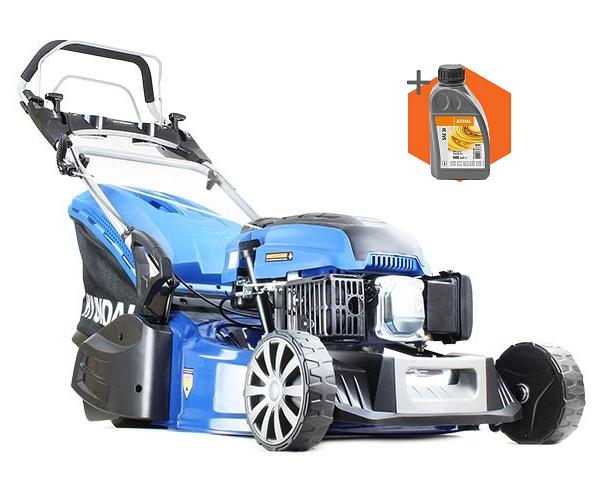 Hyundai HYM480SPER petrol self propelled rear roller lawn mower (48cm cut)