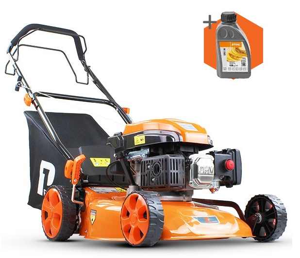 Hyundai P1 P4600SP petrol self propelled four wheeled lawn mower (46cm cut)