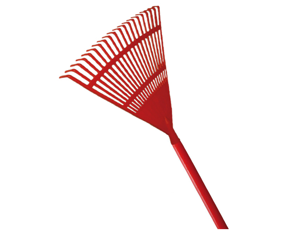 Kamikaze fan rake with wooden handle (400mm) (Individual)