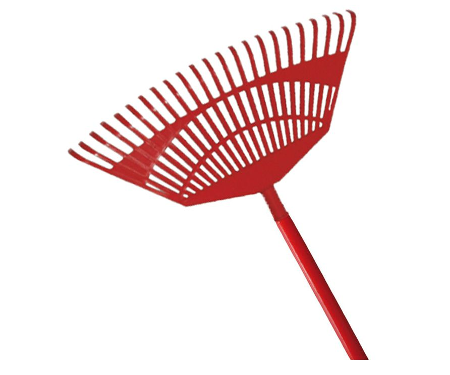 Kamikaze fan rake with wooden handle (450mm) (Individual)