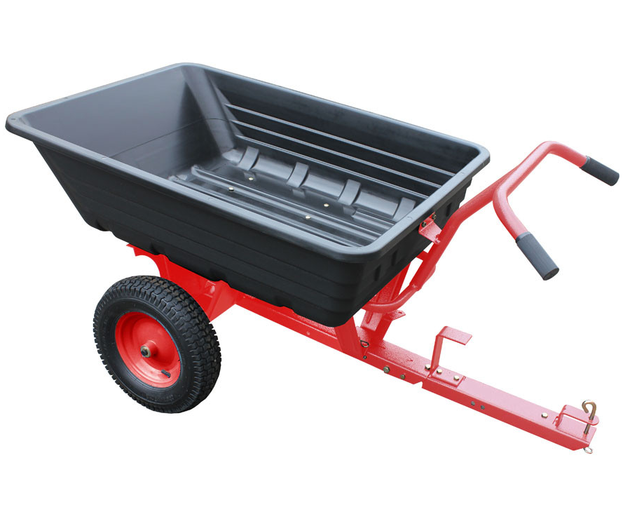 Lawnflite LPC650 push/tow poly cart (295kg capacity)