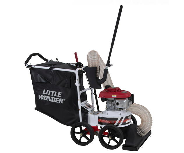 Little Wonder Pro-SI push leaf vacuum