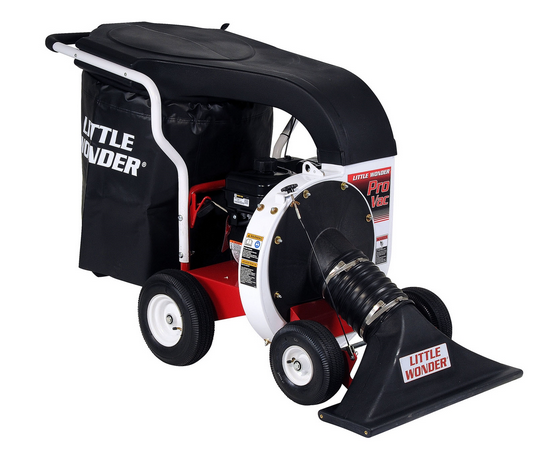 Little Wonder Pro push leaf vacuum