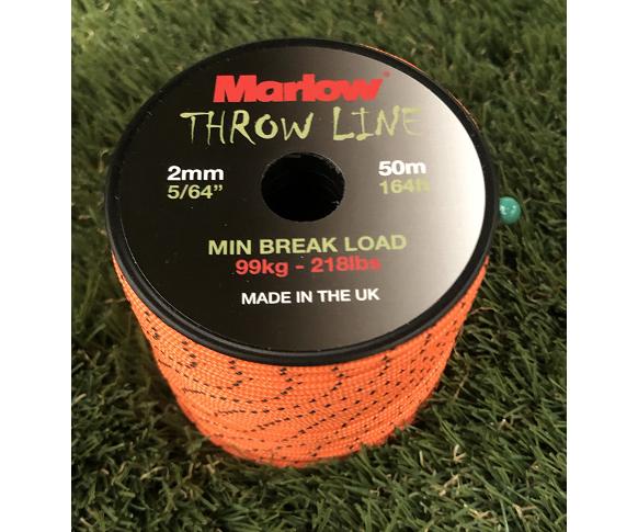 Marlow braided throwline 50m
