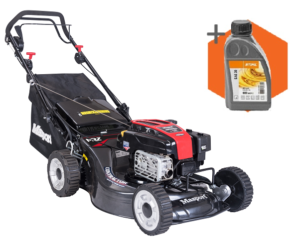 Masport Contractor BBC petrol self-propelled four wheeled lawn mower (21