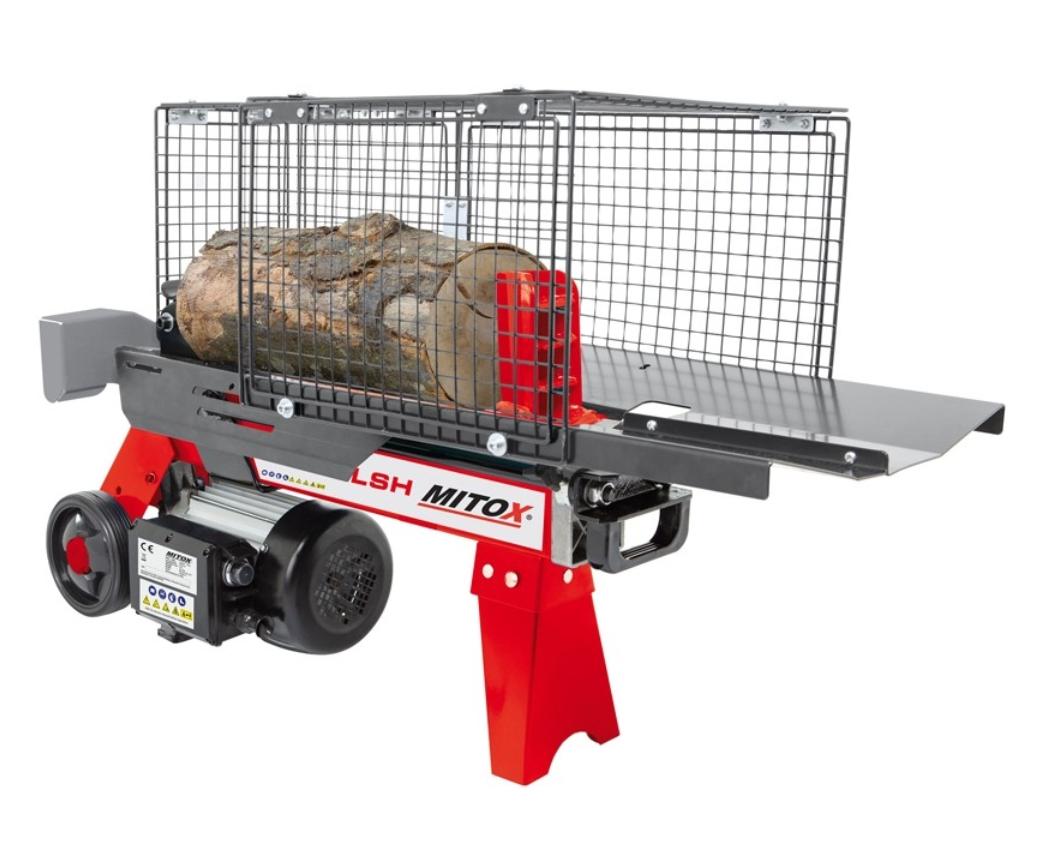 Mitox Select 41LSH electric log splitter 4 ton
