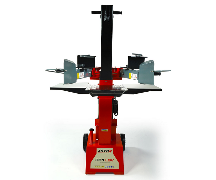 Mitox Select 801LSV electric log splitter (8 tonne splitting force)
