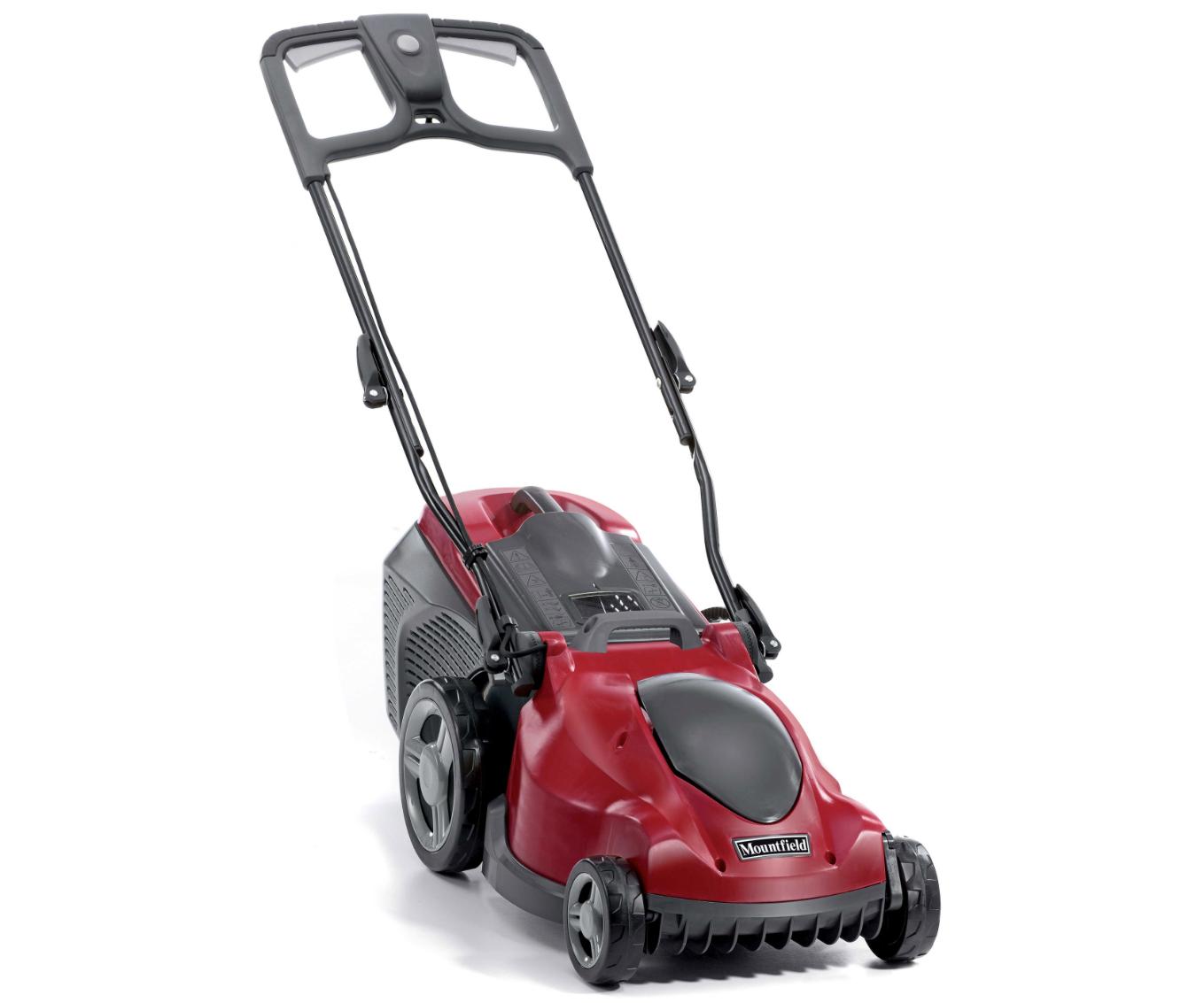 Mountfield Princess 38 electric push four wheeled/rear roller lawn mower (38cm cut)