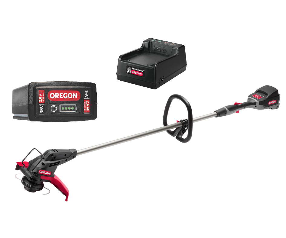 Oregon ST275 battery strimmer (with B425E 2.6Ah battery & C600 standard charger)