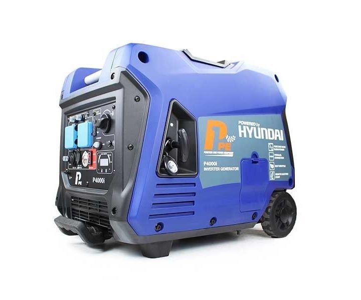 Hyundai P4000i portable petrol inverter P1 generator