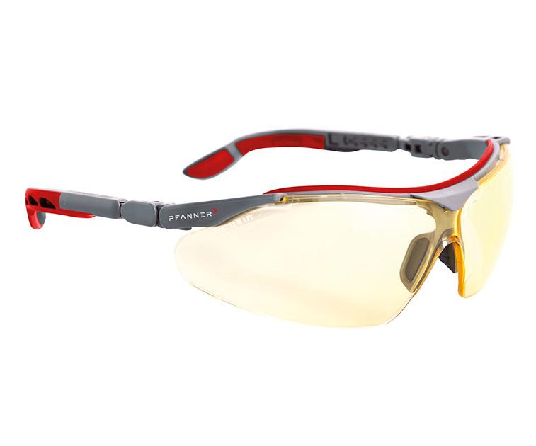 Pfanner Nexus safety glasses (Yellow)