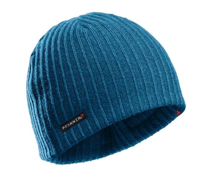 Pfanner Primaloft Gold knitted beanie (Blue)