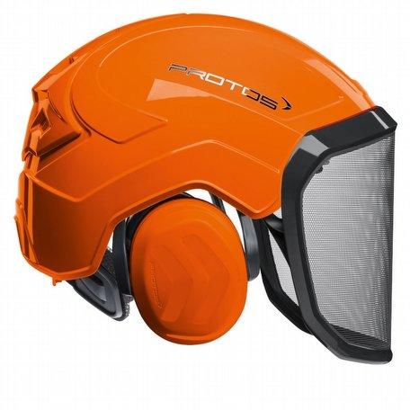 Pfanner Protos Integral forest helmet (ground use only) (Orange)