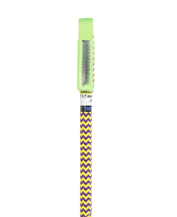 Edelrid Woodpecker 11.7mm 1-ST-W rope termination (purple/yellow)