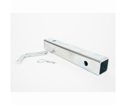 Portable Winch square tubing with hitch pin (45.7cm)