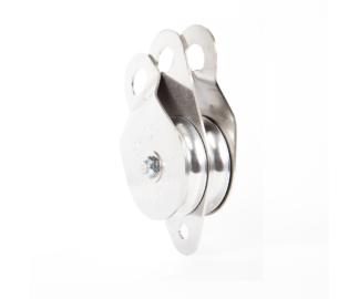 Portable Winch 135kN double swing cheek pulley