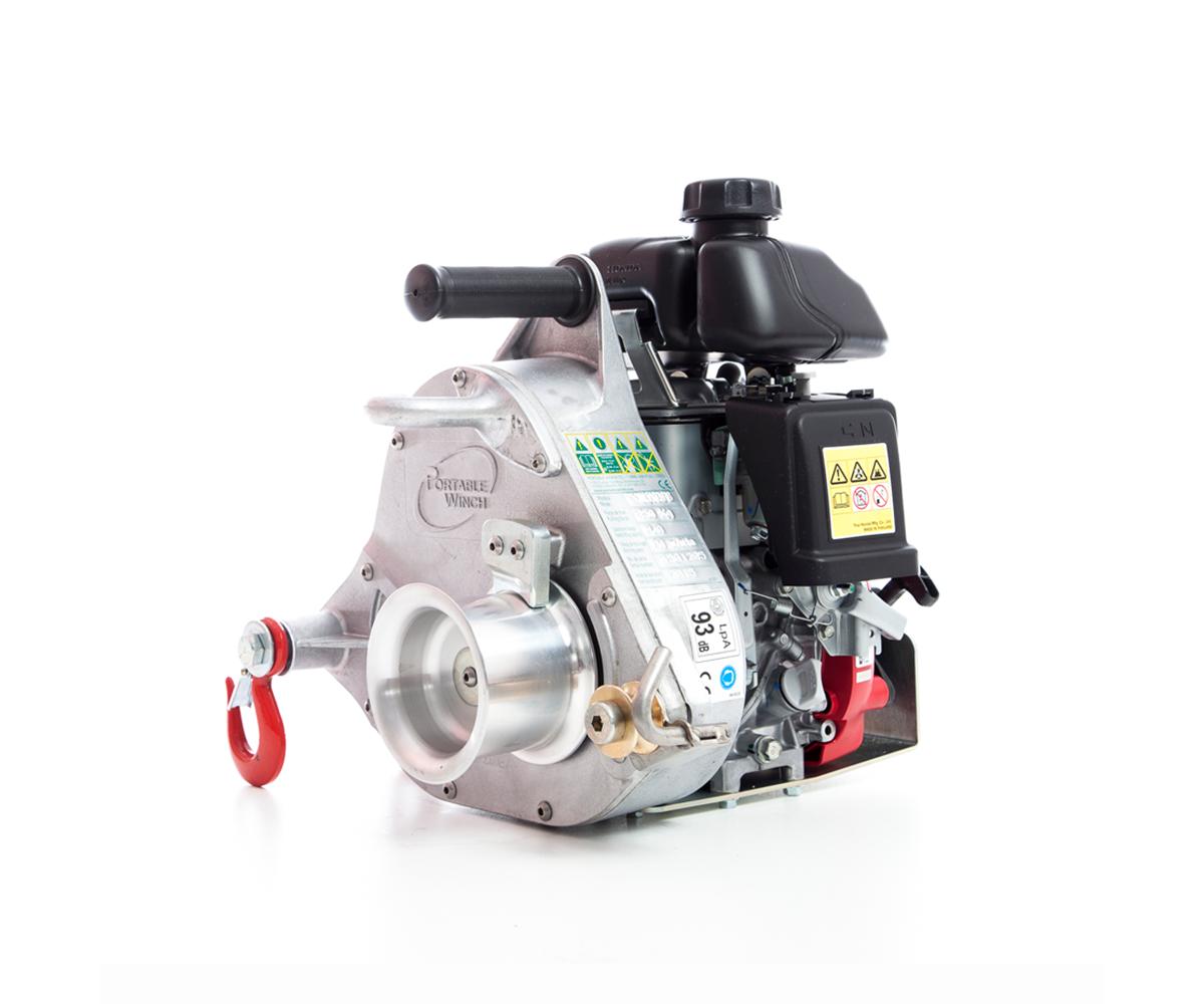 Portable Winch PWC5000-HS petrol hi-speed pulling winch (350kg)