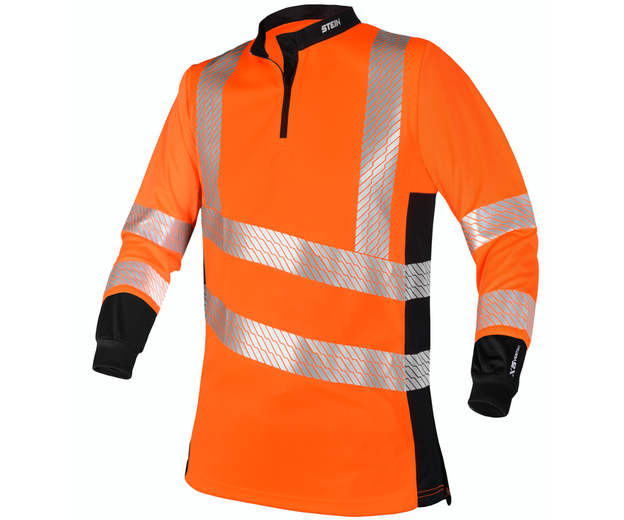 Stein X25 Ventout long-sleeve T-shirt (Hi-viz orange)
