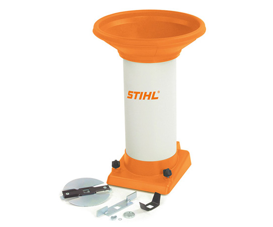 Stihl ATZ 300 straight chipper feed chute