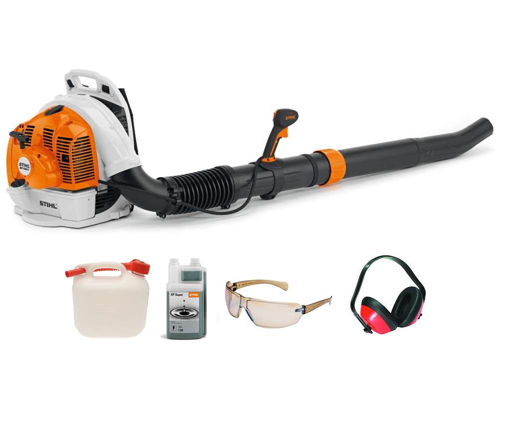 Stihl BR 450 C-EF backpack blower (63.3cc) (Electric start) (Machine with PROMO BUNDLE)